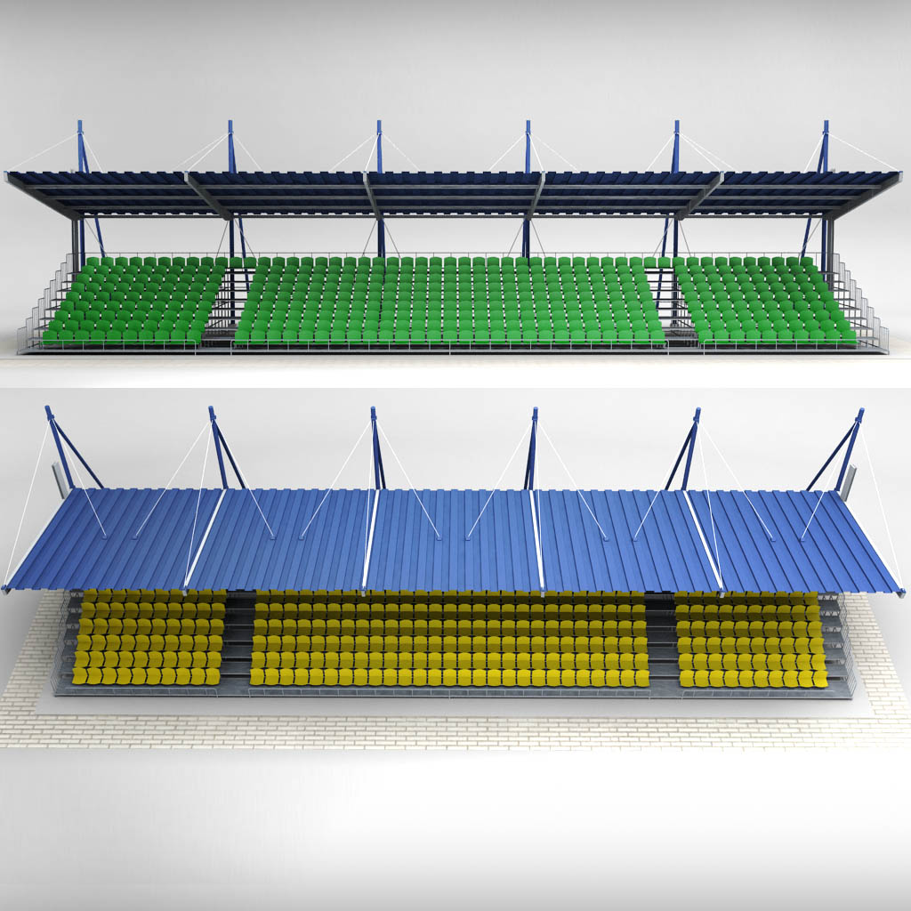 ... Stadium Seating Tribune Canopy 2 01 (6).jpg ... & Stadium Seating Tribune Canopy 2 by kr3atura | 3DOcean