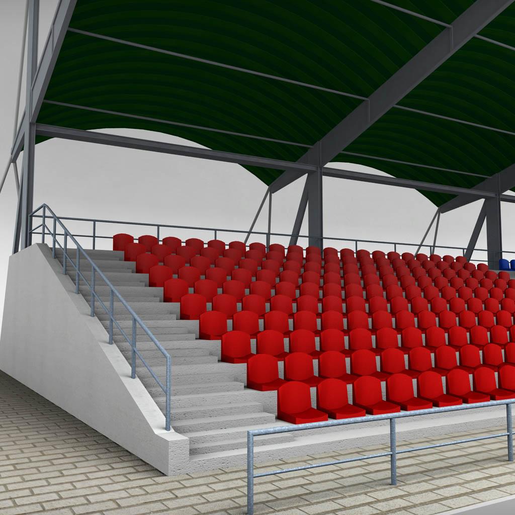 Stadium Seating Tribune Pack