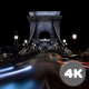 Time Lapse Of Traffic In Chain Bridge In Budapest. - VideoHive Item for Sale