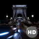 Time Lapse Of Traffic In Chain Bridge In Budapest - VideoHive Item for Sale