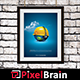 Frame for your Work - Poster Mock-Up - GraphicRiver Item for Sale