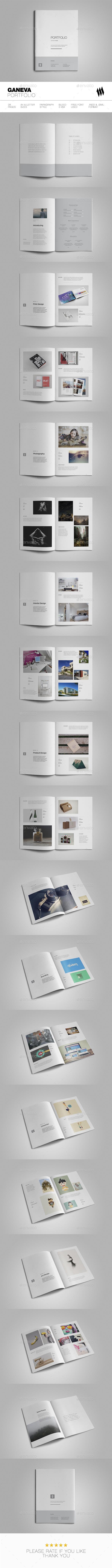Geneva Portfolio - Brochures Print Templates
