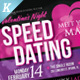 Speed Dating Flyer Templates - GraphicRiver Item for Sale