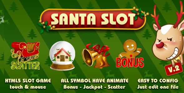 Santa Slot - CodeCanyon Item for Sale