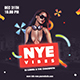 NYE Vibes Flyer Template - GraphicRiver Item for Sale
