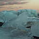 Melted Icebergs On The Beach - VideoHive Item for Sale