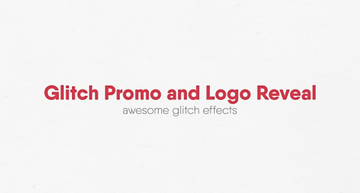 Glitch Promo and Logo Reveal