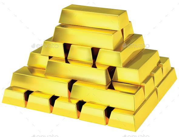 Gold Bar - Miscellaneous Vectors