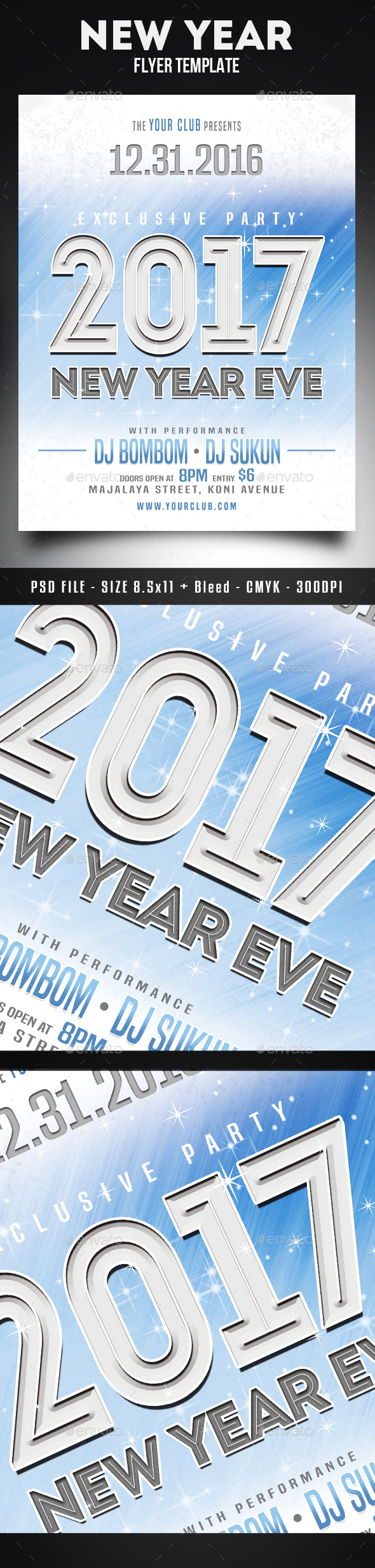 New Year Eve Flyer - Holidays Events