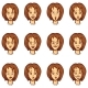 Set of Female Character Emotions - GraphicRiver Item for Sale