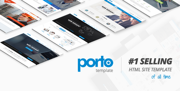 Porto - Responsive HTML5 Template Screenshot