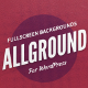 Allground - WordPress Fullscreen Background | Media