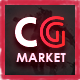 Dance CGMarket - 3D Model Marketplace Design PSD Template Nulled