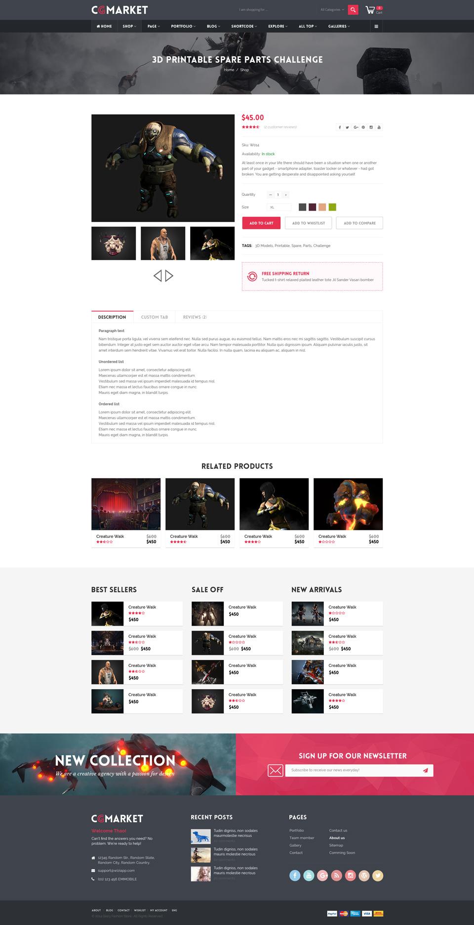 Dance cgmarket 3d model marketplace design psd template by tvlgiao dance cgmarket 3d model marketplace design psd template maxwellsz