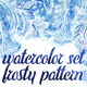Watercolor Set Frosty Patterns - GraphicRiver Item for Sale