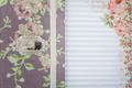 Scrapbooking holder for travel documents on floral paper - PhotoDune Item for Sale