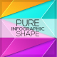 Pure Shape Infographic. Set 6 - GraphicRiver Item for Sale