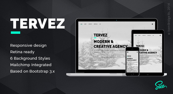 Tervez — Creative Coming Soon & Maintenance Mode Template