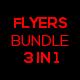 3 in 1 City Flyer Bundle Vol. 2 - GraphicRiver Item for Sale