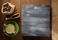 coffee cup and  beans on wood - PhotoDune Item for Sale