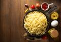 ready pasta  on wood - PhotoDune Item for Sale