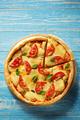 margarita pizza at wood - PhotoDune Item for Sale
