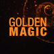 Magic Gold Backgrounds - VideoHive Item for Sale