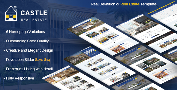 Castle – Real Estate Template