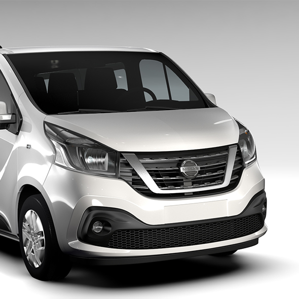 Nissan NV 300 Combi L2H1 2016 - 3DOcean Item for Sale