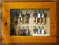 Old worn glass case with old keys - PhotoDune Item for Sale