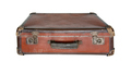 Old worn traveling suitcase - PhotoDune Item for Sale