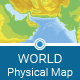 World Physical Map - GraphicRiver Item for Sale