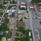 Drone Flying Over Small Town - VideoHive Item for Sale