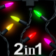 Christmas Colorful Lights - VideoHive Item for Sale