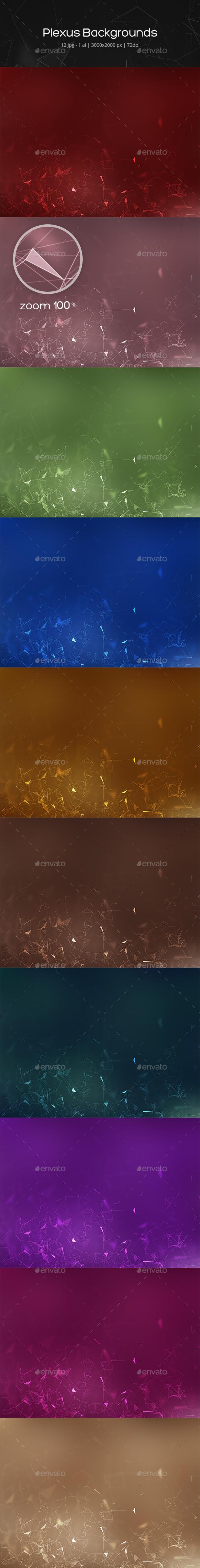 Plexus Backgrounds - Abstract Backgrounds