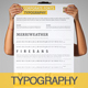 Brand Typography Template - GraphicRiver Item for Sale