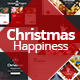 Christmas Happiness PowerPoint Template - GraphicRiver Item for Sale