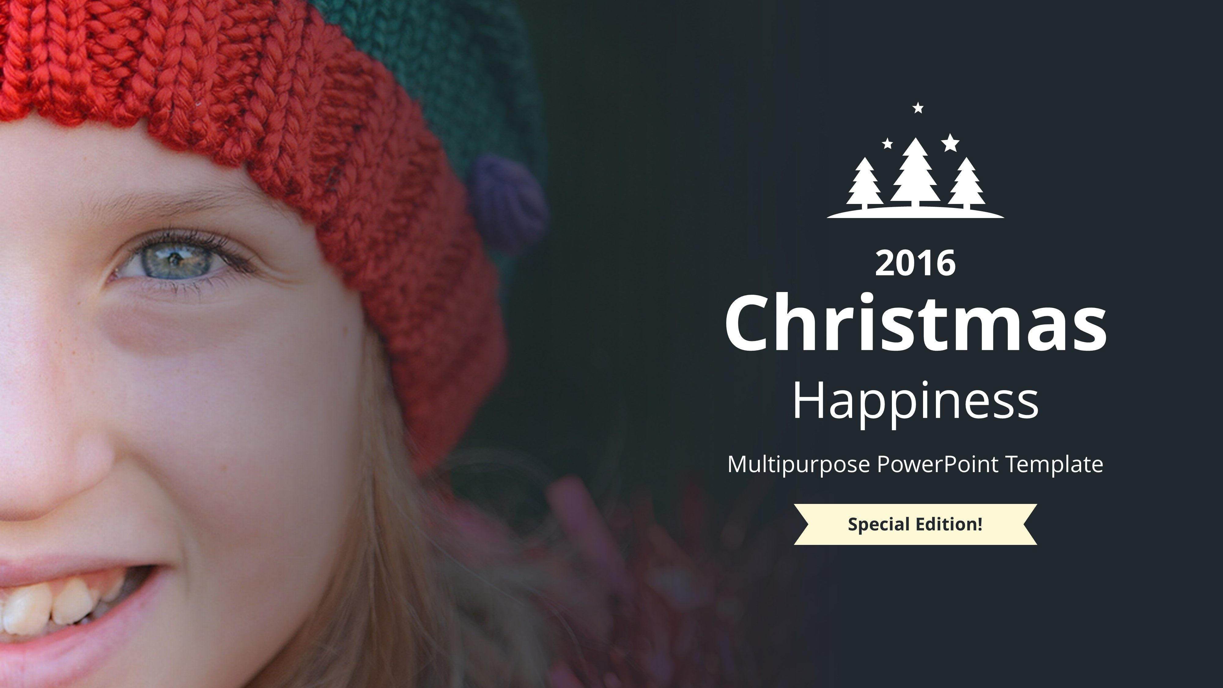 Christmas Happiness PowerPoint Template by BrandEarth | GraphicRiver