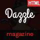 Dazzle – Viral Content / Magazine HTML Template Nulled