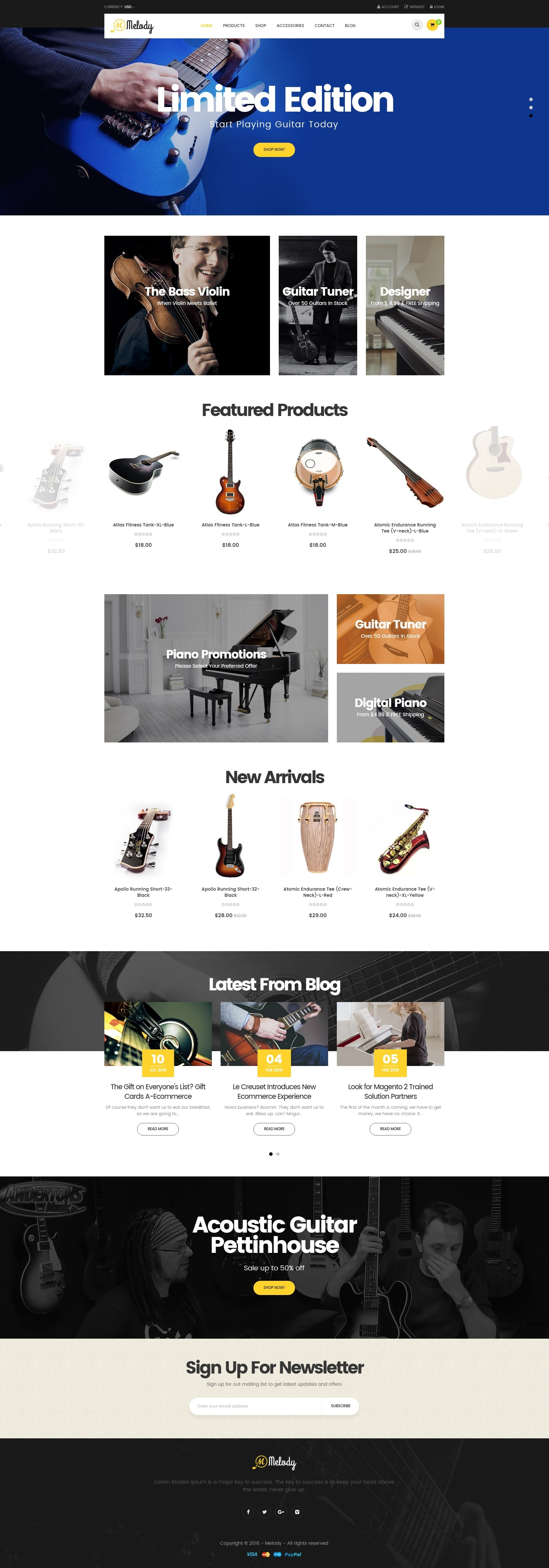 Ves Melody Magento2 Theme With Pages Builder By Venustheme