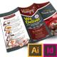 Tri-fold Dessert Menu - GraphicRiver Item for Sale