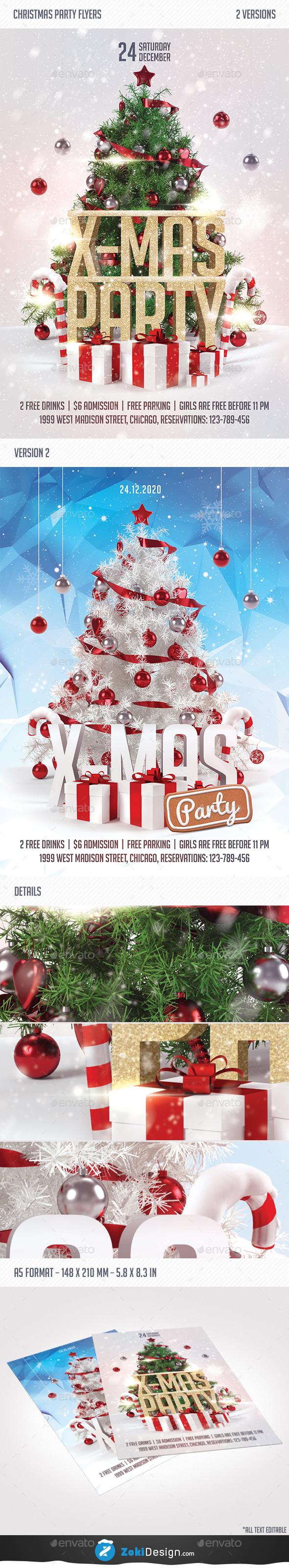 X-Mas Flyer - Holidays Events