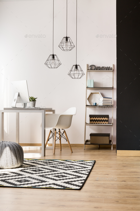 Home office decor - Stock Photo - Images