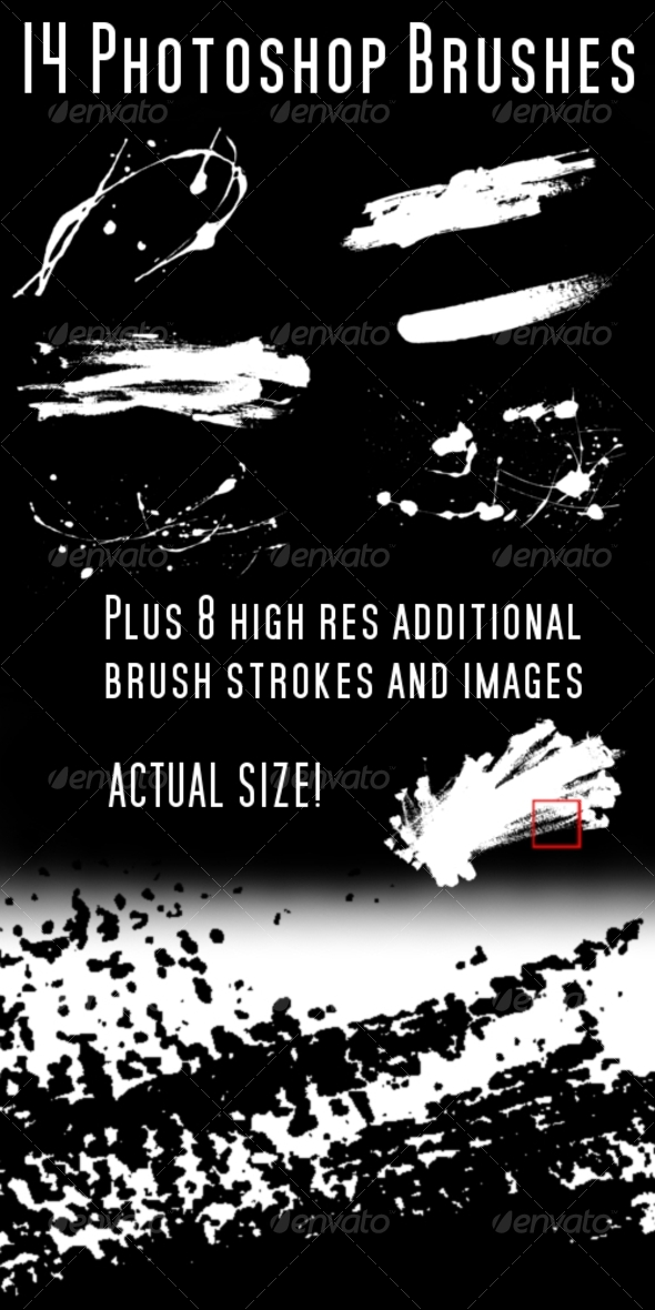 Photoshop Brush and Splats Brush Pack - Miscellaneous Brushes