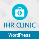 IHR Clinic - Medical and Health Care WordPress theme Nulled