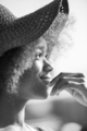 Close up portrait of a beautiful young african american woman sm - PhotoDune Item for Sale