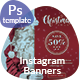 Holyday Instagram Banners - GraphicRiver Item for Sale