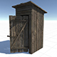 OutHouse - 3DOcean Item for Sale