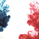 Ink in Water Red Blue - VideoHive Item for Sale