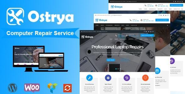Ostrya – Computer Repair Service WordPress Theme
